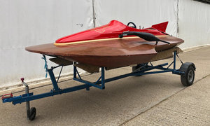 1961 Blakeney & Wells Ventnor Type 3 Pointer Hydroplane For Sale by Auction