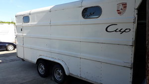 2000 Dastle Racebox Covered Trailer For Sale by Auction