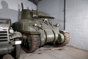 "1943 Sherman M4A1 "" Grizzly "" No reserve For Sale by Auction"