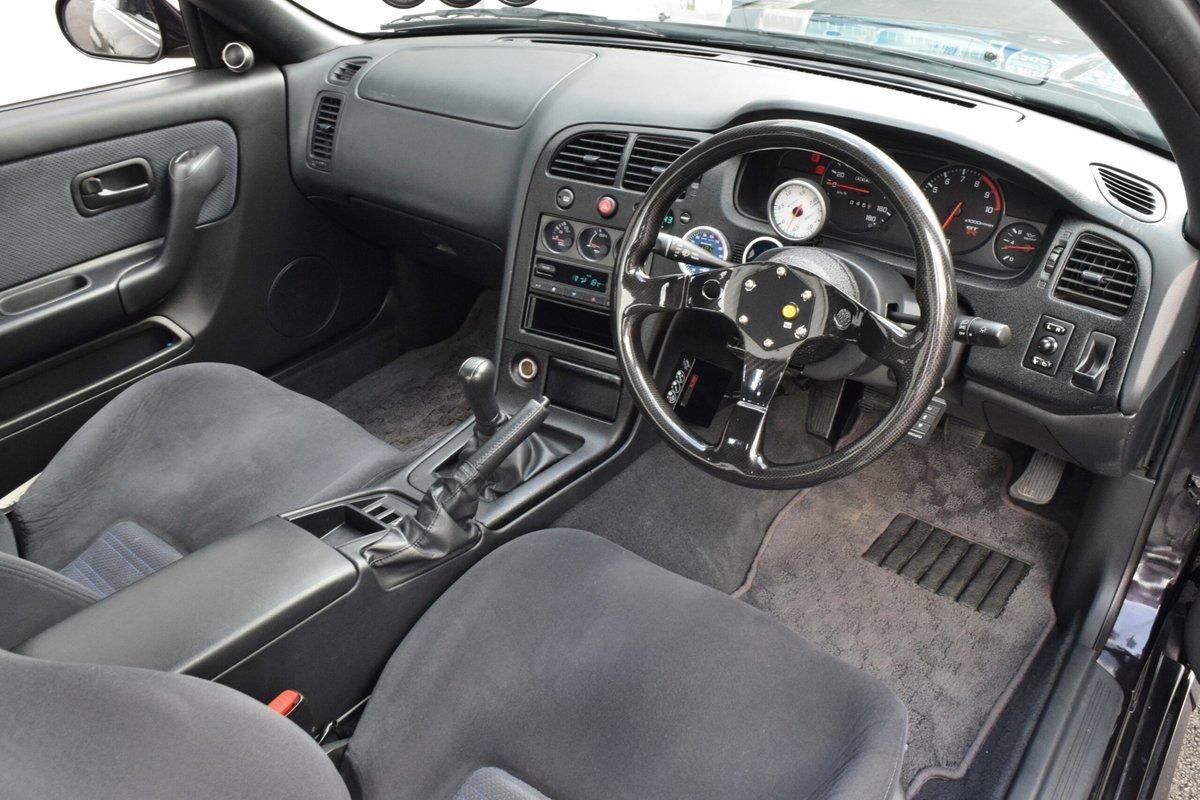 1995 Nissan GT-R R33 SKYLINE RHD mods 550-HP Purple $72.9k For Sale (picture 4 of 6)