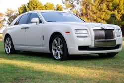 2012 Rolls-Royce Ghost Sedan Carrara White Loaded $obo
