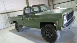 1980 Chevrolet K10 Pick Up Truck Long Bed 454 manual $12.9k