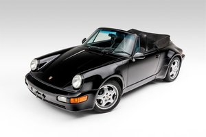 Picture of 1992 Porsche 911 America Roadster Rare 1 of 250 Black $92.5k For Sale