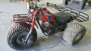 Picture of 1984 HONDA Three-Wheeler 200cc Fun Big Red Driver $1.9k For Sale