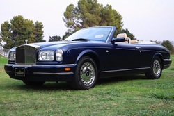 2001 Rolls-Royce Corniche Convertible Blue(~)Tan 25k miles  For Sale (picture 1 of 6)