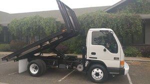 2003 Chevrolet W4500 Diesel flatbed is 12 foot long Rare $19