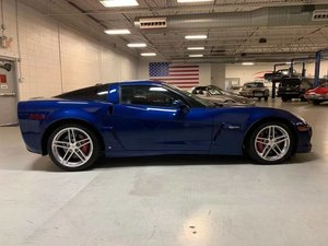 2006 Chevrolet Corvette Z06 Coupe Manual Blue 12k miles $38.