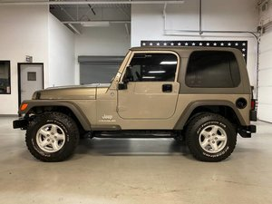 2006 Jeep Wrangler X 4WD SUV Manual 6-spd clean Khaki $23.7k
