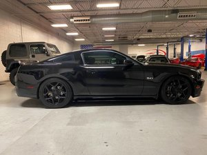 2014 Ford Mustang GT FastBack 5.0 V-8 Auto Black $24.7k