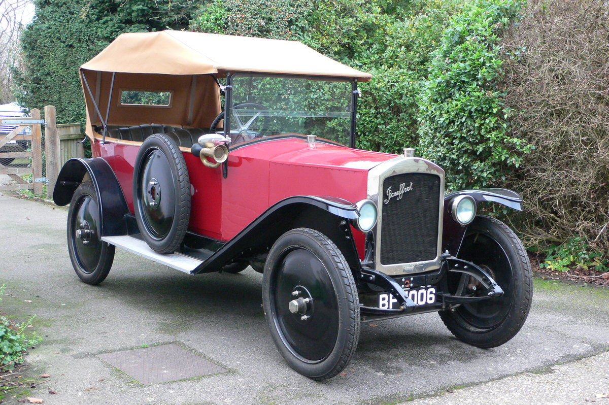 1921 Jouffret Four Seater Tourer For Sale (picture 2 of 6)