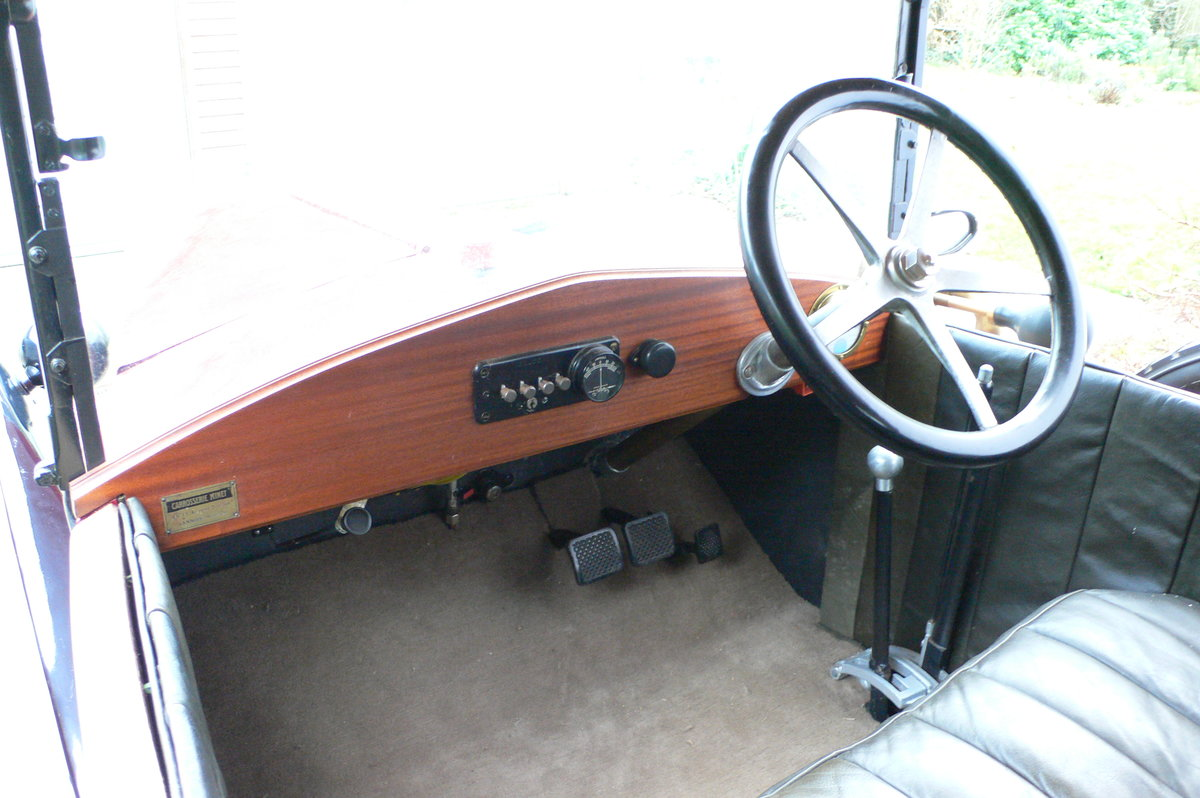 1921 Jouffret Four Seater Tourer For Sale (picture 4 of 6)