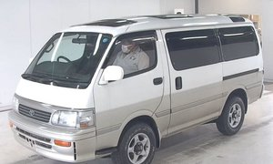 1995 Toyota HiAce Super Custom 4WD 1KZTE turbo-diesel