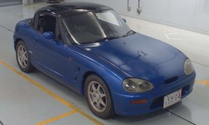 1992 Suzuki Cappuccino RHD Euro-specs Blue(~)Black $8k For Sale