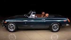 1973 MG B Roadster Convertible Fresh Restored Green $27.9k For Sale