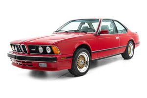 Picture of 1988 BMW M6 Coupe Sunroof Manual Red(~)Tan driver $39.9k For Sale