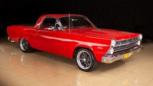1967 Ford Ranchero Pro-Touring 450-HP mods AC 9 inch $34.9k For Sale