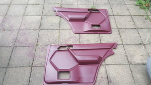 Mercedes w124 Saloon car rear door Cards