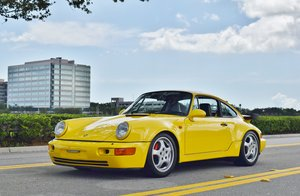 1991 Porsche 911 Turbo 964 Coupe Rare Ferrari Yellow $149.9k