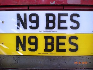 Cherished Plate N9BES