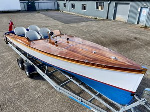 Picture of 1930 30ft Slipper Launch built by Andrews of Bourne End For Sale
