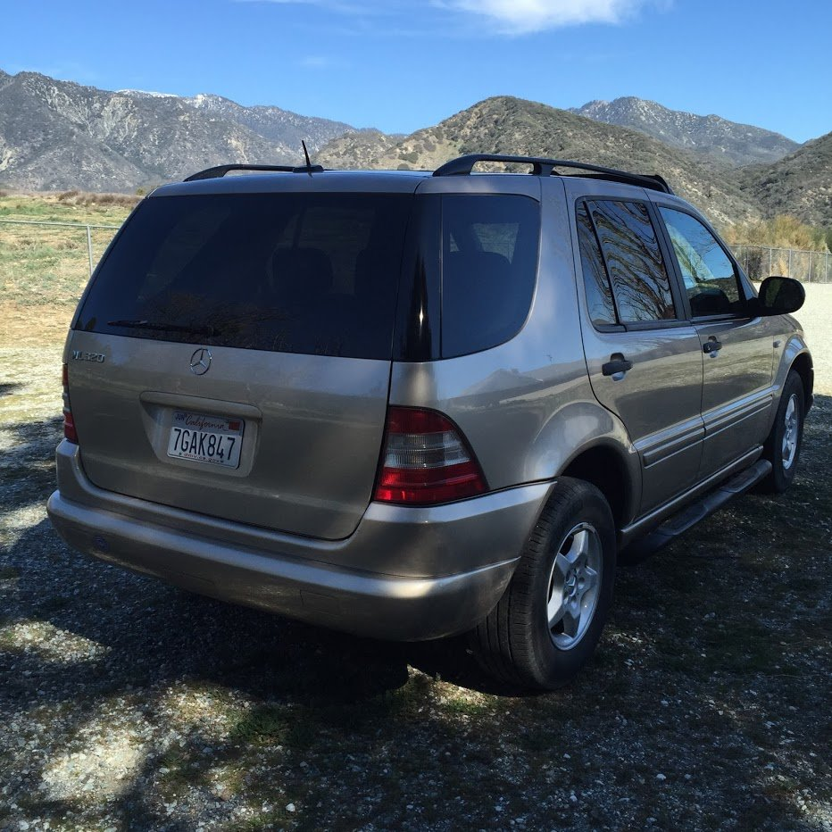 2001 Mercedes ML320 AWD SUV driver Gold(~)Tan $3.2k For Sale (picture 2 of 6)