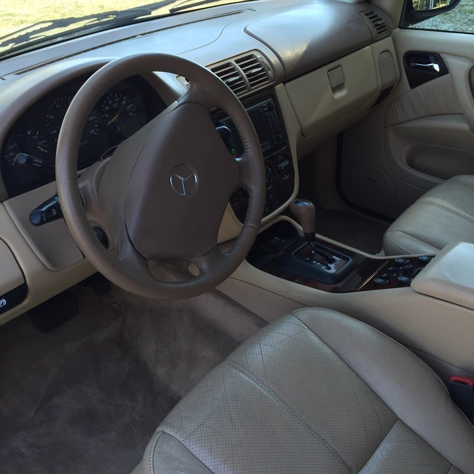 2001 Mercedes ML320 AWD SUV driver Gold(~)Tan $3.2k For Sale (picture 3 of 6)