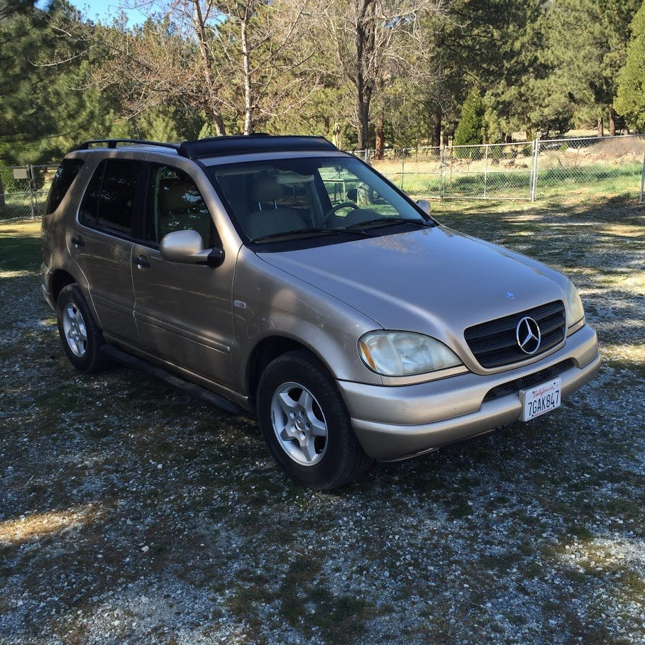 2001 Mercedes ML320 AWD SUV driver Gold(~)Tan $3.2k For Sale (picture 6 of 6)
