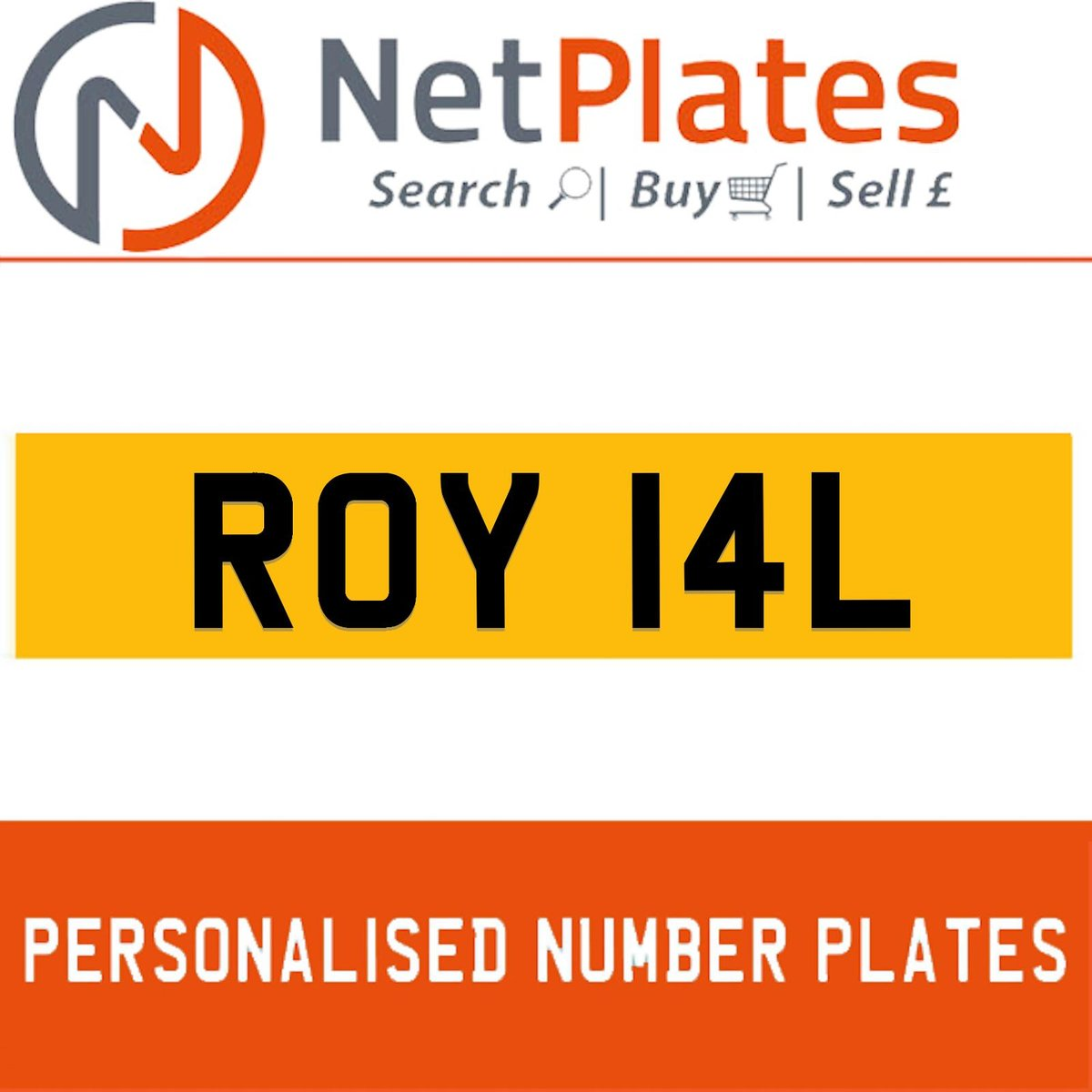 1900 ROY 14L PERSONALISED PRIVATE CHERISHED DVLA NUMBER PLATE For Sale (picture 1 of 5)
