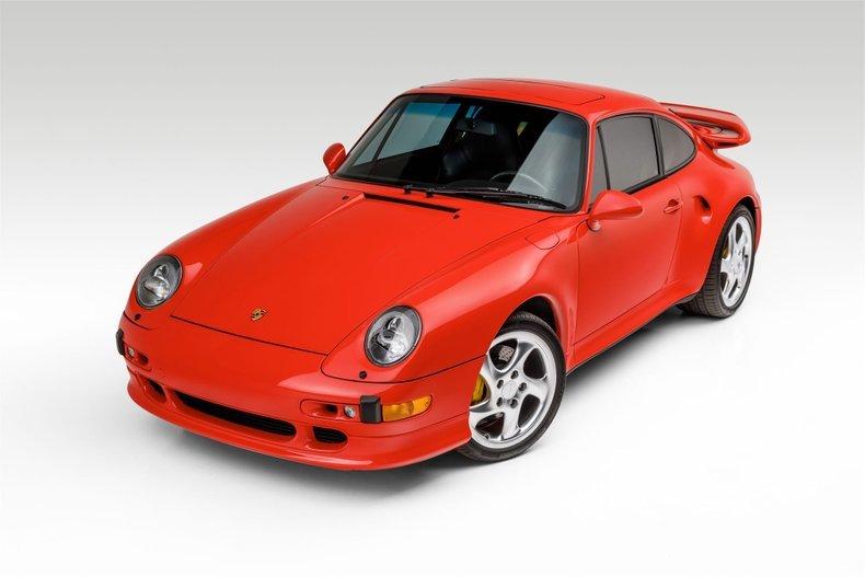1997 Porsche 911 Turbo S Coupe Sunroof - Rare 1 0f 183 US For Sale (picture 1 of 6)