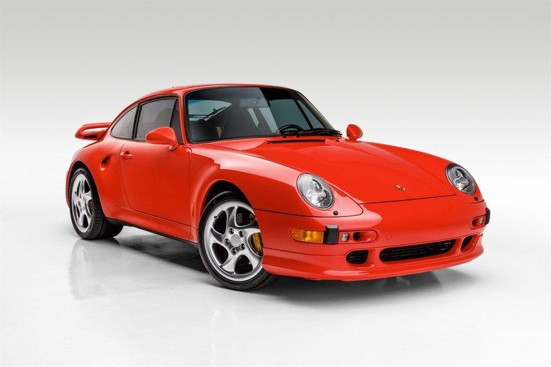 1997 Porsche 911 Turbo S Coupe Sunroof - Rare 1 0f 183 US For Sale (picture 2 of 6)