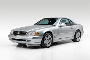 2002 Mercedes- SL500 Roadster Convertible(~)Coupe $28.5k