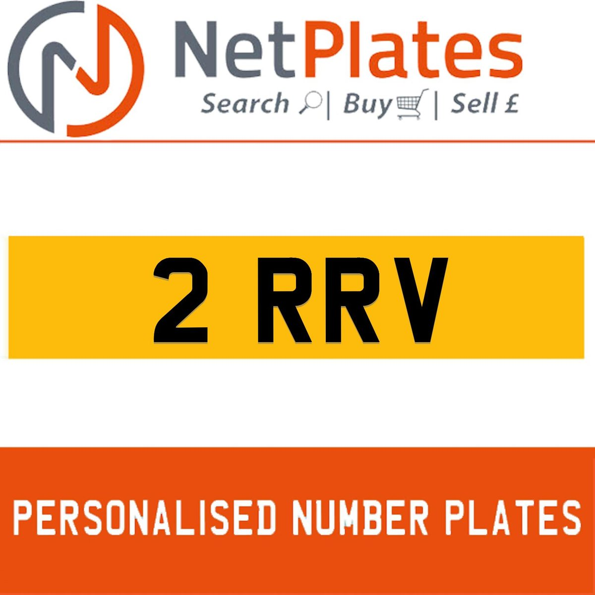 1900 2 RRV PERSONALISED PRIVATE CHERISHED DVLA NUMBER PLATE For Sale (picture 1 of 5)