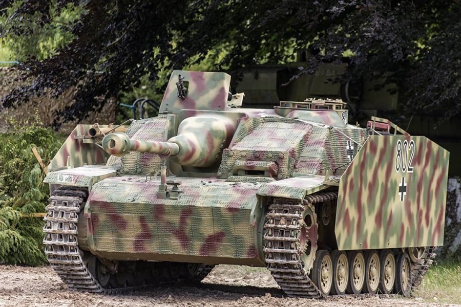 1944 Sturmgeschutz III Ausf G, Panzer,  For Sale (picture 1 of 6)