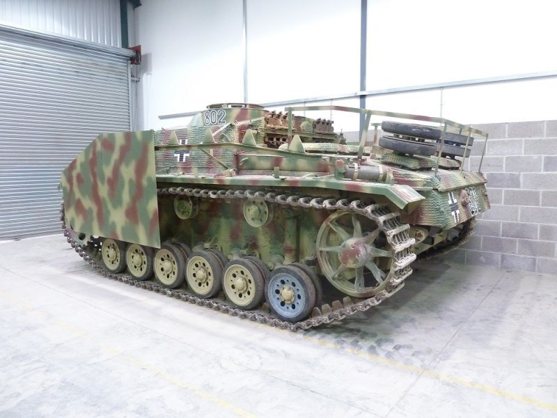 1944 Sturmgeschutz III Ausf G, Panzer,  For Sale (picture 4 of 6)