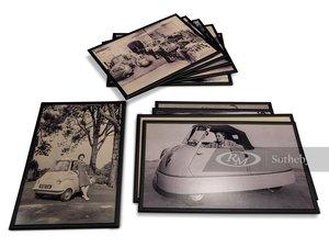 Microcar Framed Black and White Photographs