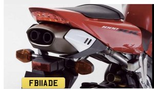 Picture of 2011 FB11ADE Cherished reg,Ideal 'FIREBLADE' private number plate For Sale