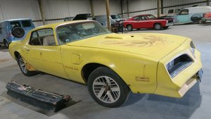 Picture of 1977 Pontiac Trans Coupe 6.6 Lite auto Project Yellow $6.5k For Sale