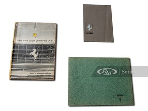 Picture of Ferrari 250 GT Owners Manual Set with Folio, Signed For Sale by Auction
