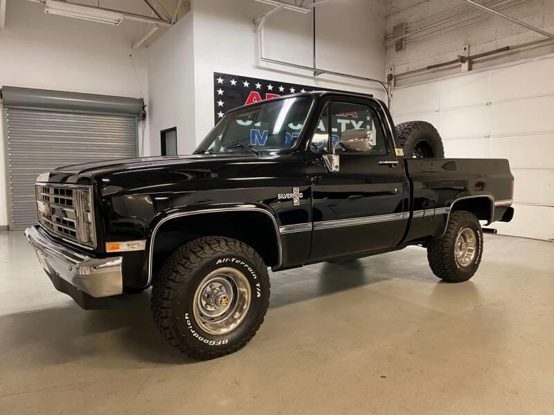 1987 Chev R/V 10 Series V10 Silverado Pick Up Truck 4x4 4WD For Sale (picture 1 of 6)