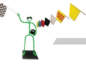 Track Flags with Display Figure