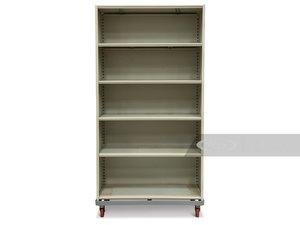 Five Rolling Shelves