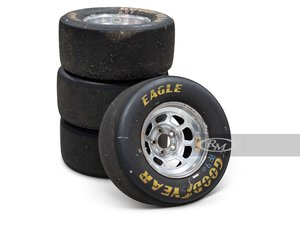 Winston Cup Wheels with Goodyear Eagle Tires (27.512.0-15)