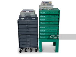 Durham and Au-ve-co Fastener Cabinets