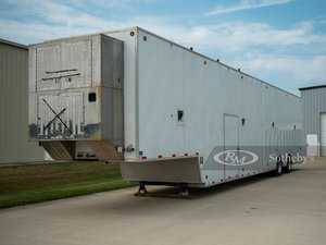 1997 S&S Welding 53 Transport Trailer