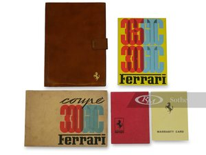 Ferrari 330365 GTC Owners Manuals and Folio
