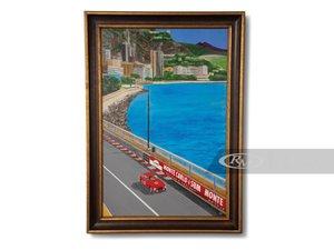 Ferrari Monte Carlo Painting by GH