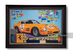 Ferrari 275 GTB Painting by GH