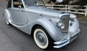 Picture of 1950 Jaguar MK V Roadster - LHD clean Silver(~)Black $65k For Sale