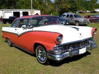 Picture of 1956 Ford Crown Victoria Coupe HardTop clean Red driver $29 For Sale