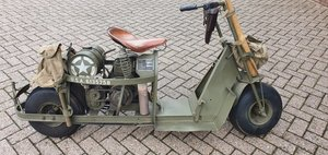 Picture of 1944 Cushman, Airborne scooter, Cushman typ 53, Cushman scooter For Sale